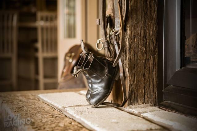Tony Pike's boots